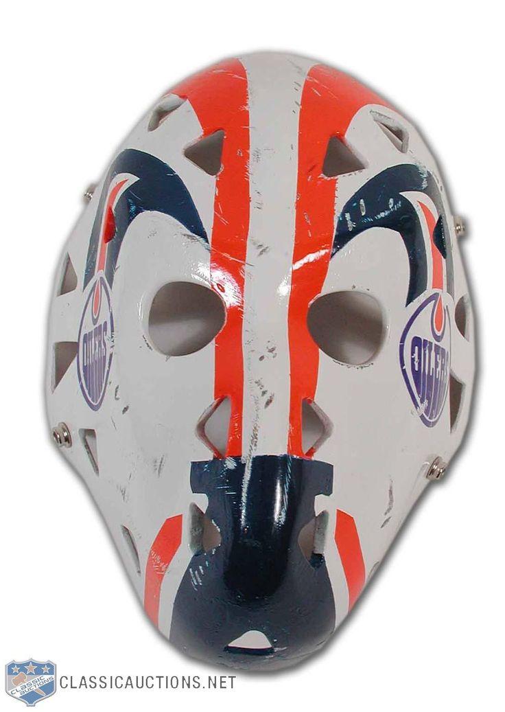 A classic Grant Fuhr Oilers Mask