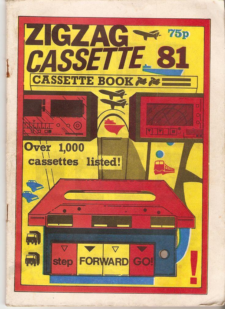 ZIGZAG Cassette Catalogue 1981