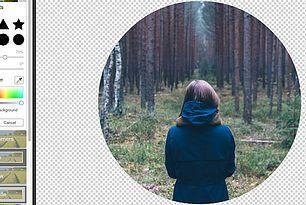 Jak szybko zrobić okrągłe zdjęcie bez tła?