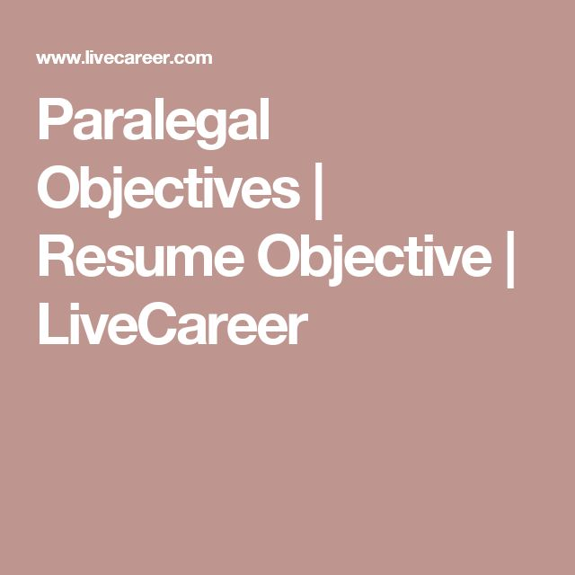 Best 25+ Good resume objectives ideas on Pinterest Career - i need an objective for my resume