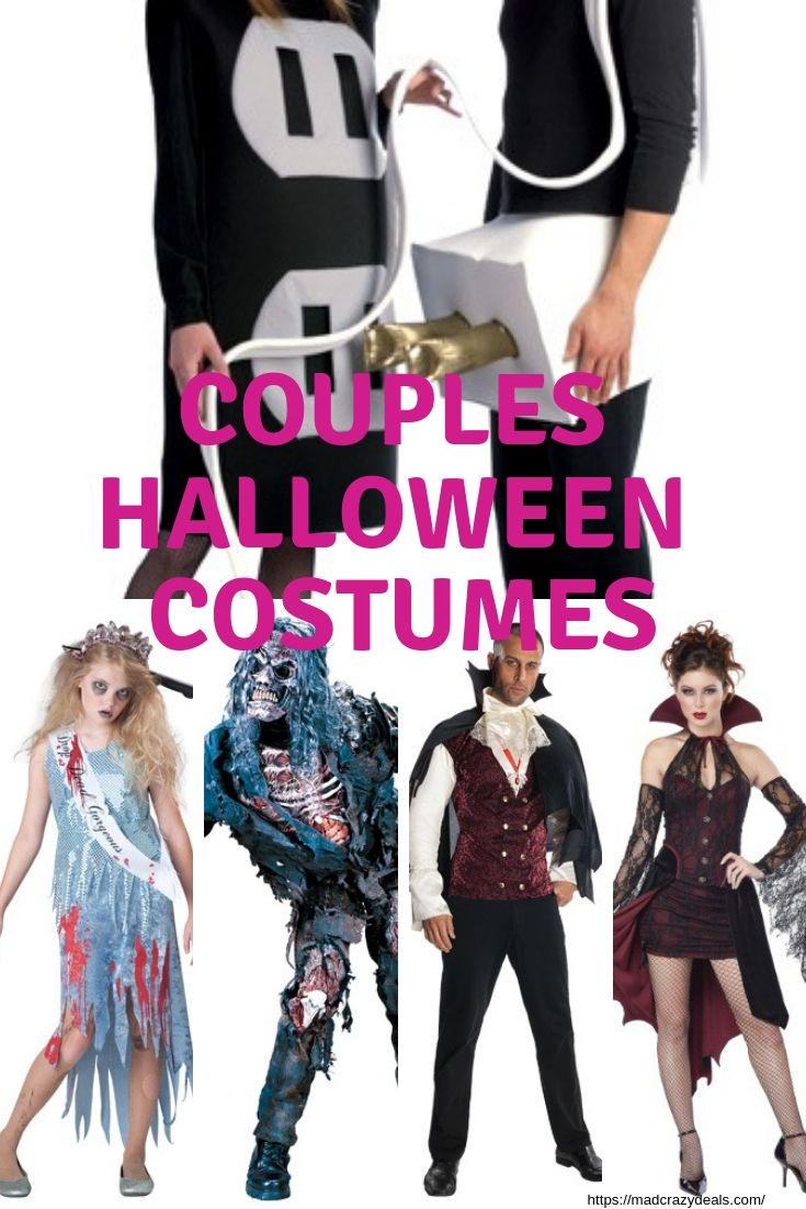 couples halloween costumes - get ideas for sexy, cute and funny