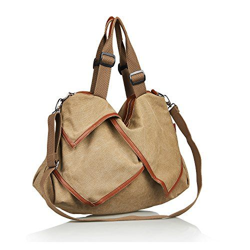 Unives® Retro Canvas Shoulder Bag for Traveler Oversized Casual Handbag Cross body Hobo Style Tote Extra Large Shopping Bag Everyday Use for Sale | Khaki UNIVES http://www.amazon.com/dp/B010SM0P22/ref=cm_sw_r_pi_dp_DNpywb0ZA7ZAV