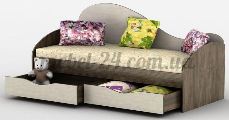 Кровать Идеал Тиса, детская односпальная кровать, недорого с выдвижными ящиками, Киев, Белая Церковь, цена