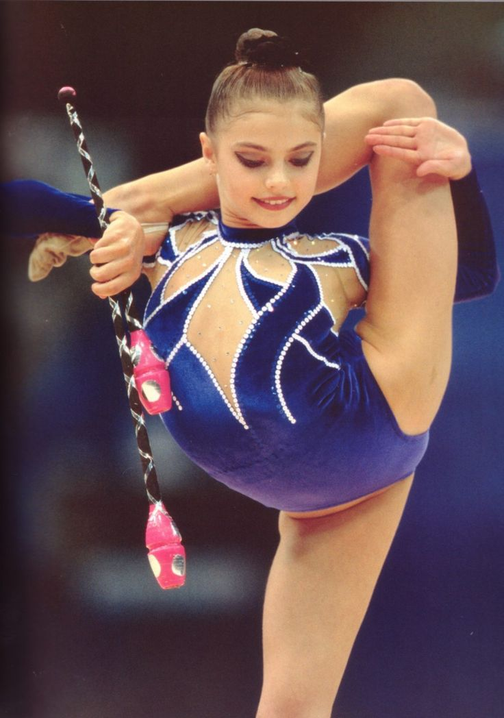Alina Kabayeva. When your hands are ripped and body is sore, gymnasts get up and ask for more.
