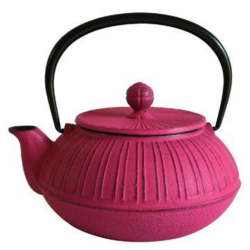 au-dela des mers nanbu tekki tea pot 'kiku no.5'