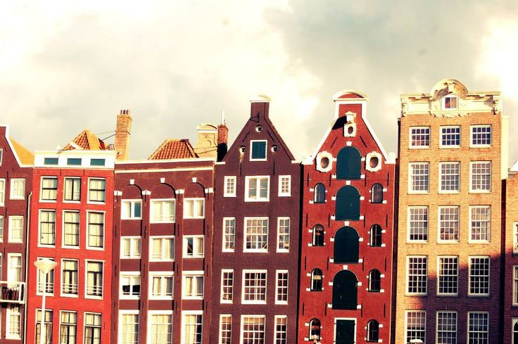 Amsterdam, canal houses