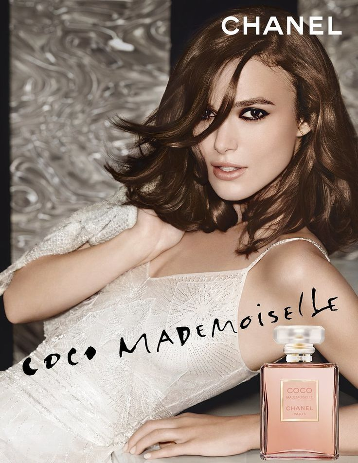 The new Keira Knightley for #Chanel campaign is here!