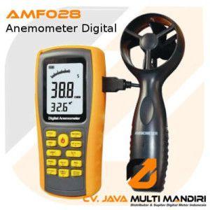 Alat Pengukur Kecepatan Angin – Anemometer Digital AMF028