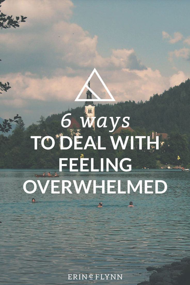 Feeling overwhelmed? Learn these  six ways to deal with feeling overwhelmed as a small business owner, freelancer, or entrepreneur. Click through and beat the overwhelm!