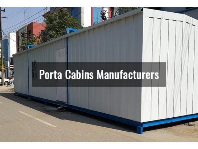 Enjoy Living In Elegant Porta cabins