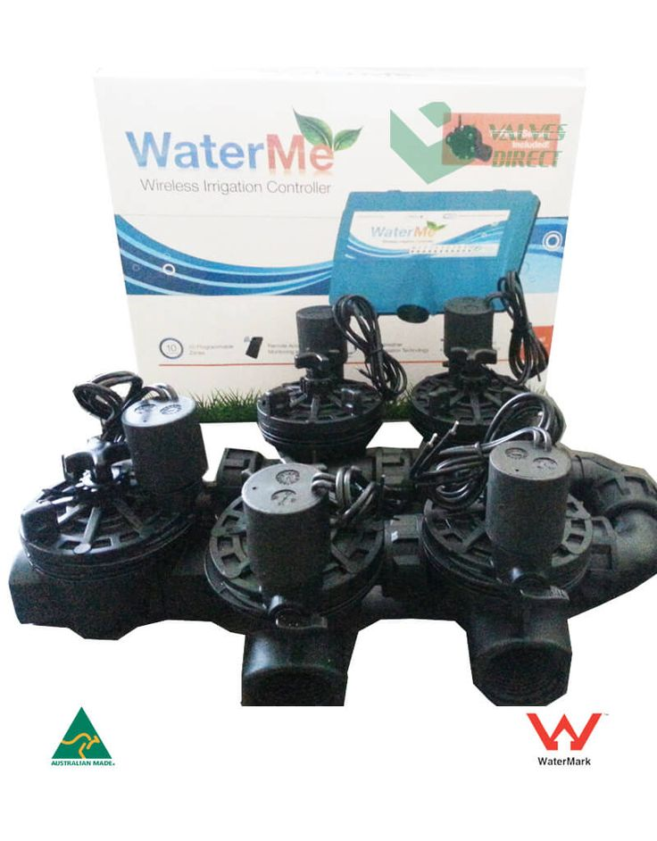 WaterMe Irrigation Controller + Irrigation Manifold Assembly (4 x Manifold +1 x Inline Solenoid) – 100LPM 5.001 out of 5 $325.00 Inc. GST.