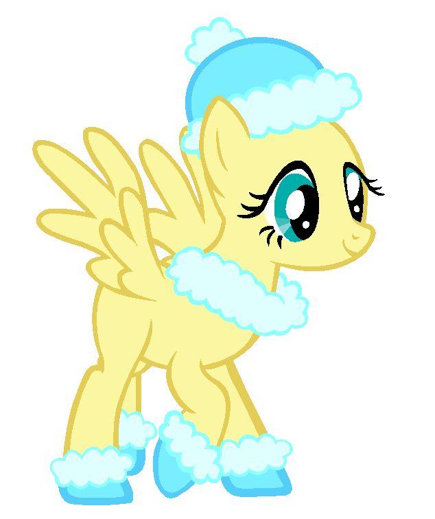 Winter Pony Base -Fluttershy- by NinjaProperty on deviantART