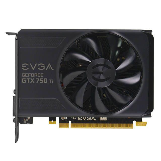 EVGA NVIDIA GeForce GTX 750 Ti 2GB GDDR5 DVI/HDMI/ Video Display Graphic Card !! #EVGA