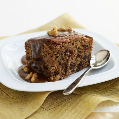 Mary Berry's Sticky toffee pudding. For the full recipe and more, click on the picture or visit RedOnline.co.uk