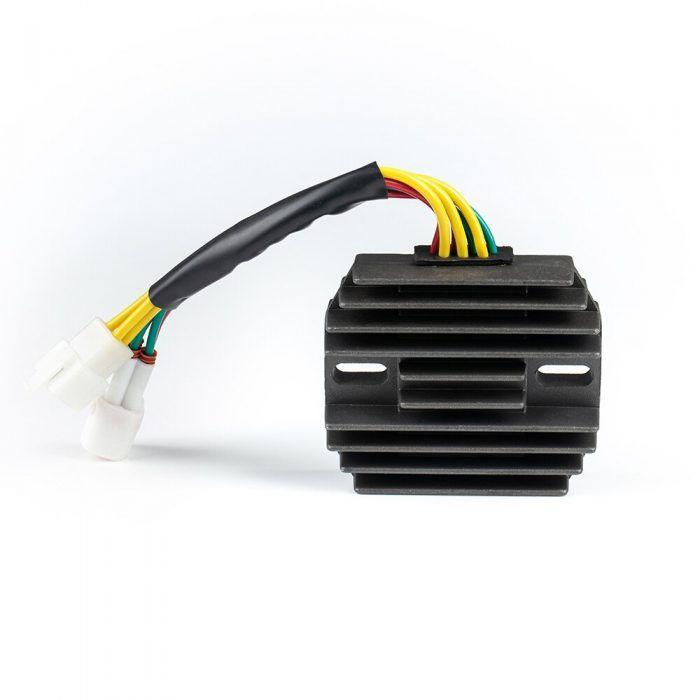 Mad Hornets Regulator Voltage Rectifier For Suzuki GSXR 600 750 1000 GSX1300R Hayabusa VL1500 LT-F500F Intrude Quadrunner YHC-037 Early Models