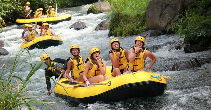Bali Alam Rafting - Telaga Waja River
