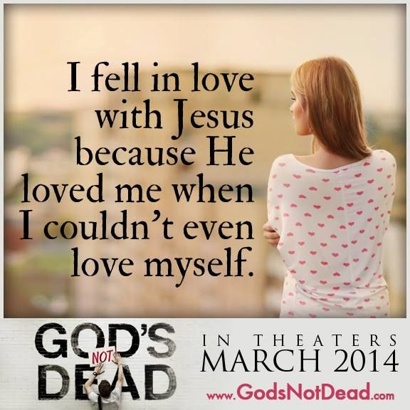 God's love knows no bounds.  How wonderful it is when we begin to see and feel His love for ourselves.  God is love!
