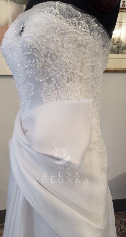abito da sposa con tasche
