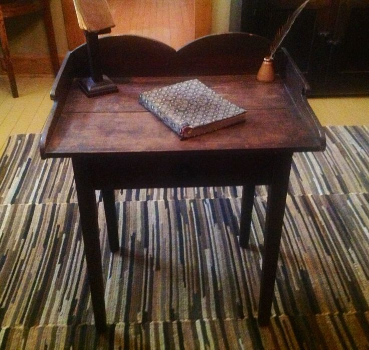 This Desk Will Be For Sale At The Country Spirit Antique Show In Arcola, IL