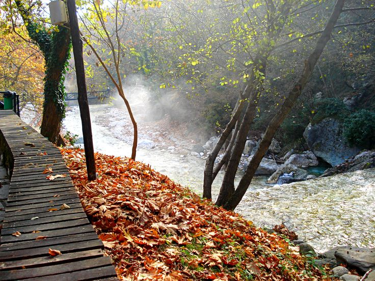 Pozar / Hot springs / Greece   / Fall