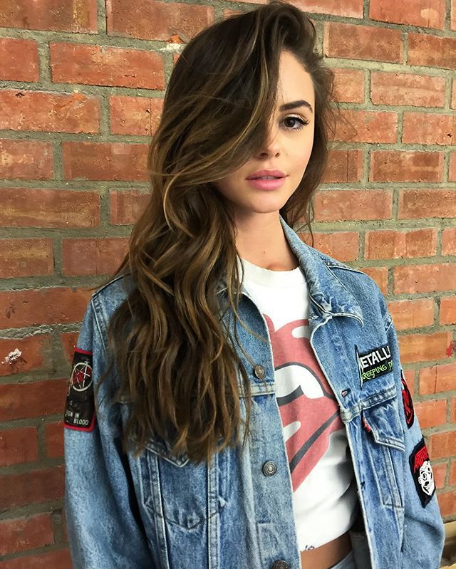 Browse Instagram-approved long hair inspiration  at @stylecaster | side-swept loose curls