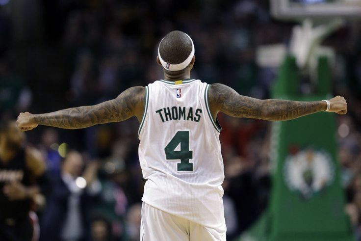 Isaiah Thomas ties Celtics' franchise mark for consecutive 20-point games = Boston Celtics point guard Isaiah Thomas has written his way into the franchise's history books with his performance on Wednesday night against the Philadelphia 76ers, scoring…..