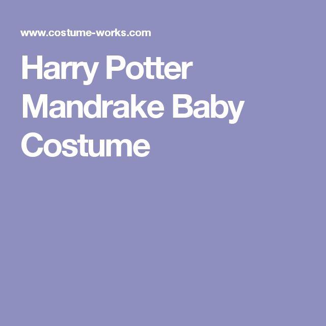 Harry Potter Mandrake Baby Costume