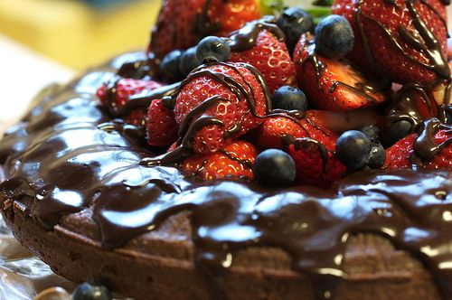 Almost Fudge Gateau