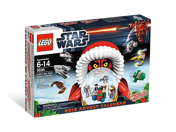 Kiddo Gifts - Feel the Force the holiday season with the LEGO®Star Wars™ Advent Calendar!  (Only $25 Black Friday)