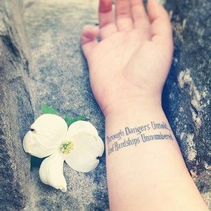 Labyrinth: The movie that changed you. The movie that made you a woman. | 31 Super Cute Tattoos For '90s Girls