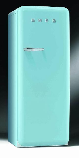 Smeg FAB28(R/L)AZ1 Hűtő, Világoskék