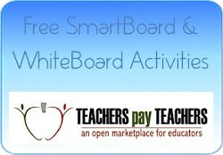 Free interactive SmartBoard and WhiteBoard activities from TpT.  All Free Teacher resources, where everything is free!