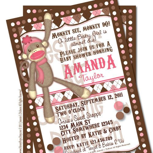 Best 25 Monkey Invitations Ideas On Pinterest Monkey Birthday