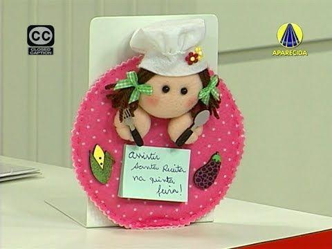 Santa Receita | Porta Recado por Priscila Cunha - 05 de Junho de 2014