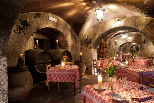 Super cozy restaurant in rome places i love pinterest