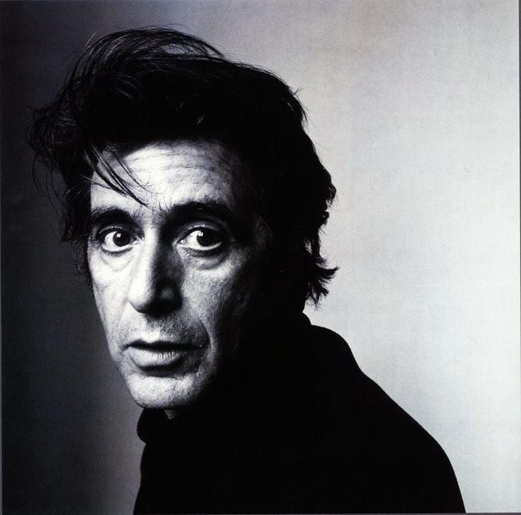Famous Portrait Photographers - Irving Penn   Al Pacino 1995