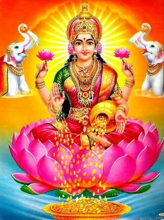 Goddess Lakshmi.