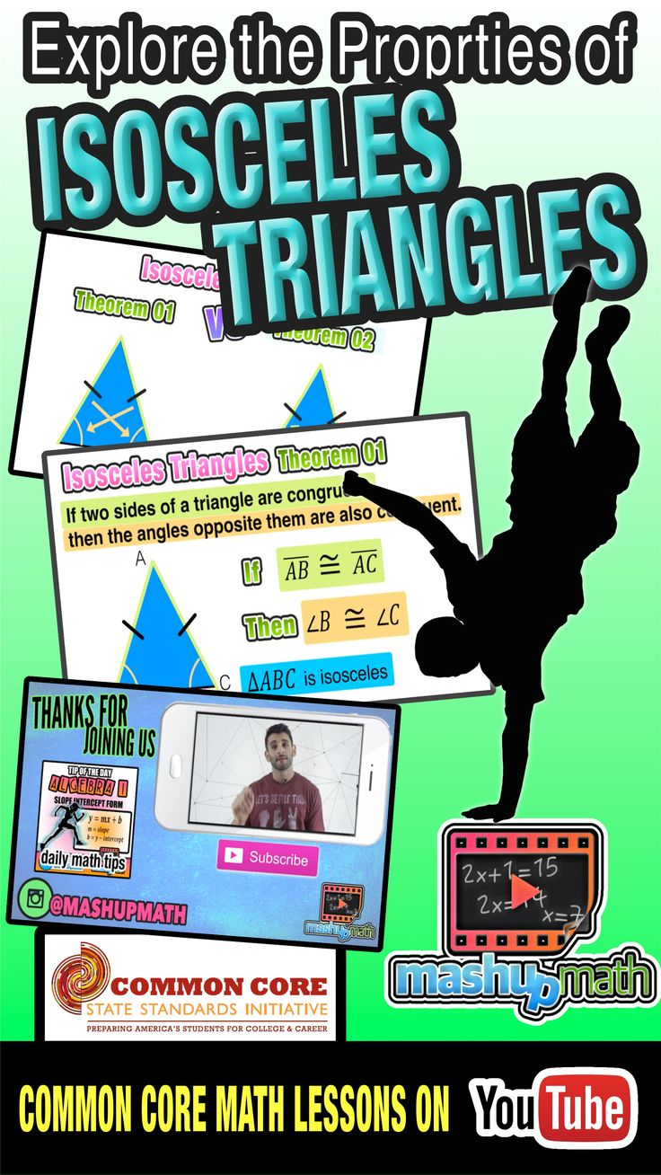 Do you understand the properties of isosceles triangles