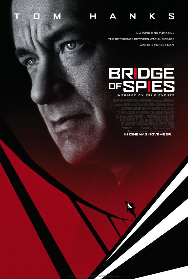 20th Century Fox has released a new poster for Bridge of Spies, the upcoming Cold War thriller from director Steven Spielberg and star Tom Hanks... SEE ALSO: Watch the trailer for Bridge of Spies U...
