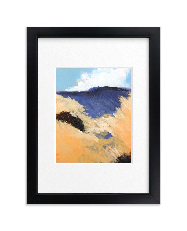 """Mountain Pastures"" - Art Print by Megan Kelley in beautiful frame options and a variety of sizes."