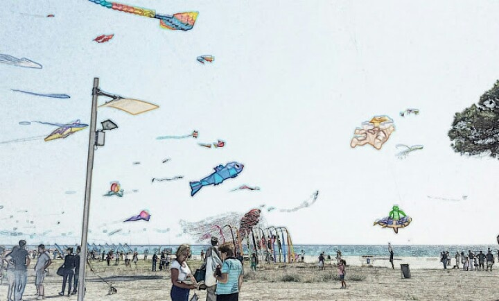 Kites cartoons