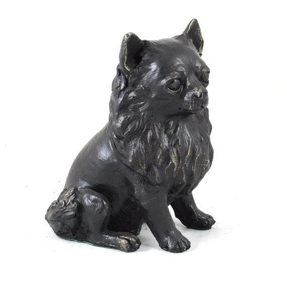 Chihuahua dog sitting statue limited edition by ArtDogshopcenter