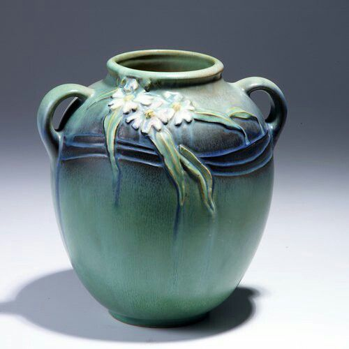 Roseville Pottery - Experimental - Cosmos - #AAPA