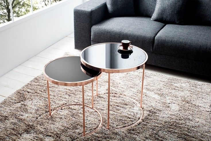 Design Coffee Table Mango Wood Sophie Metal Round Side Table Hemisphere 80x35cm In Furniture Home Furniture Tables Decoracao Moveis Ambiente