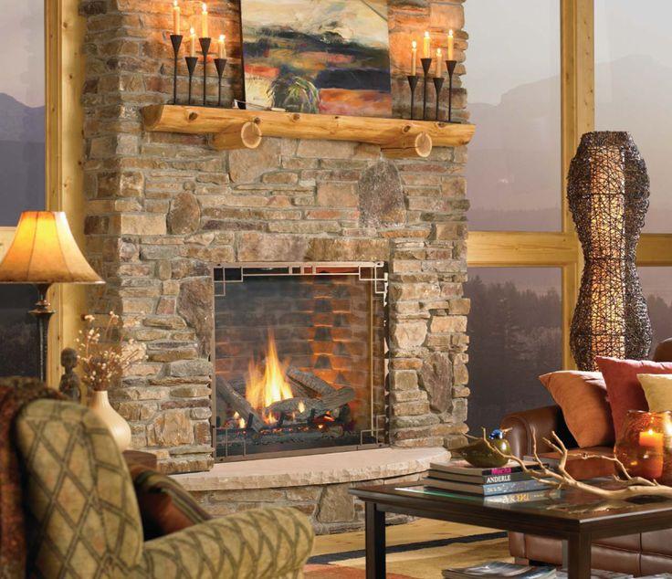 Best 25 Gas log fireplace insert ideas on Pinterest Gas log