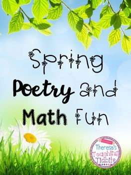 Spring Poetry and Math Fun This is an engaging graphing lesson connected to a poem about spring creatures.  FREEBIE