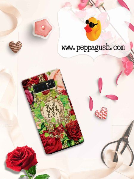 Monogram phone case perfect for a red hot valentine ❤️ 🌹 made to order for iPhone and Samsung