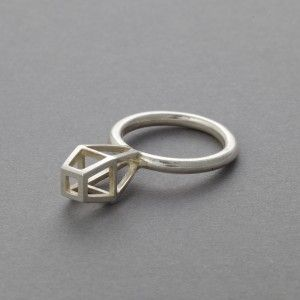 Tua Marika is a Finnish jewellery designer based in Sweden. Fractures slim no.1 Size: US 6,1/4 Fractures medium Size: US 5 Growth, Size US 5,5