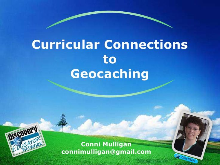 Curricular Connections to Geocaching by Conni Mulligan via slideshare