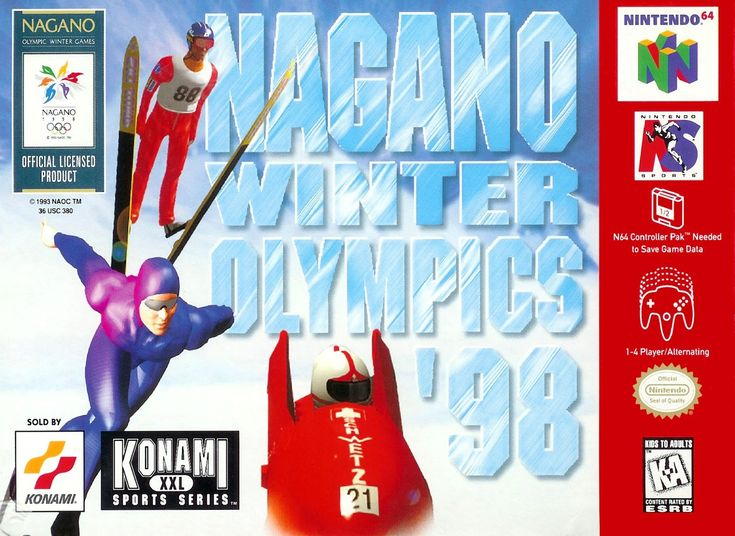 Check out the new review of Nagano Winter Olympics '98 for N64!